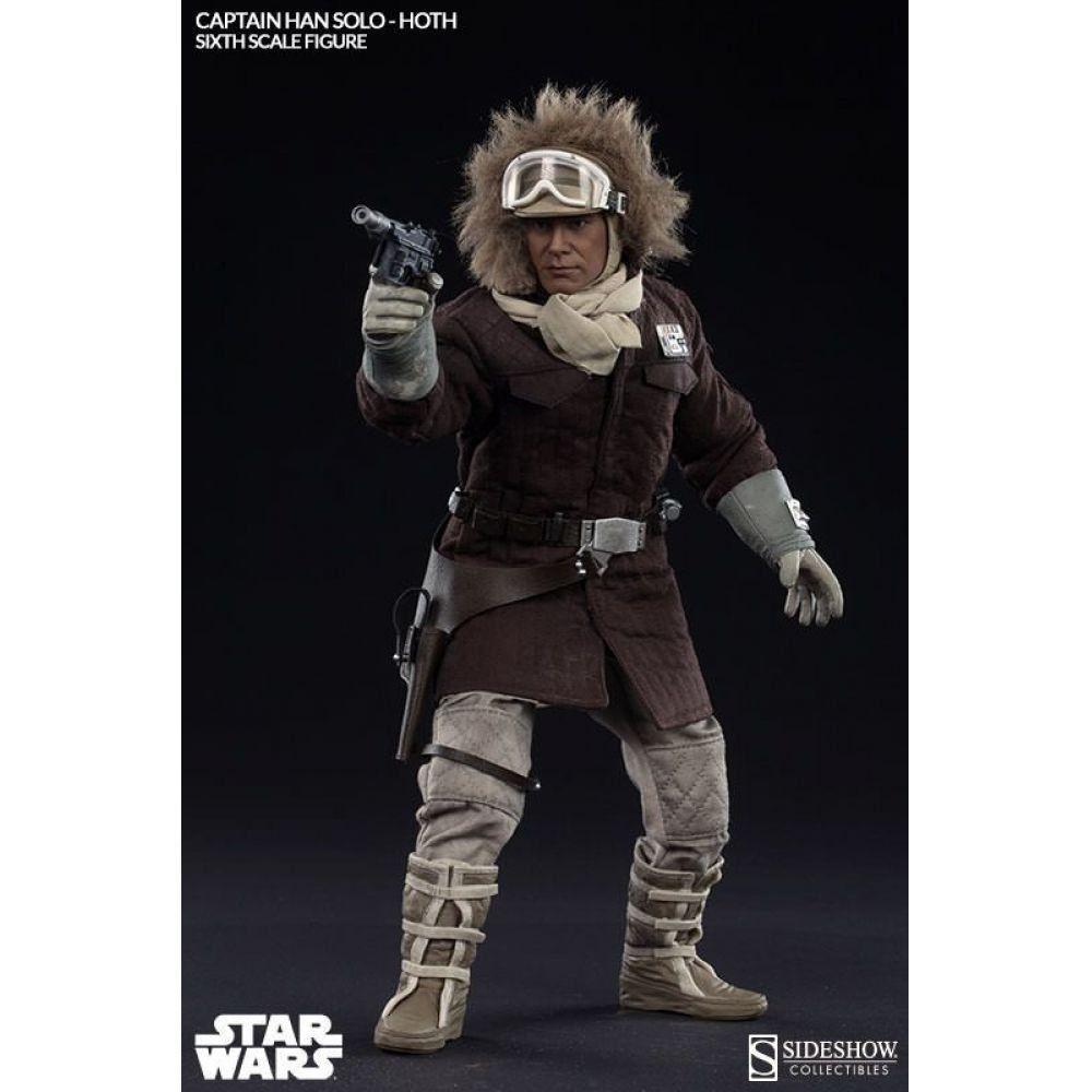 Han Solo Hoth Escala 1/6 - Sideshow (Produto Exposto)