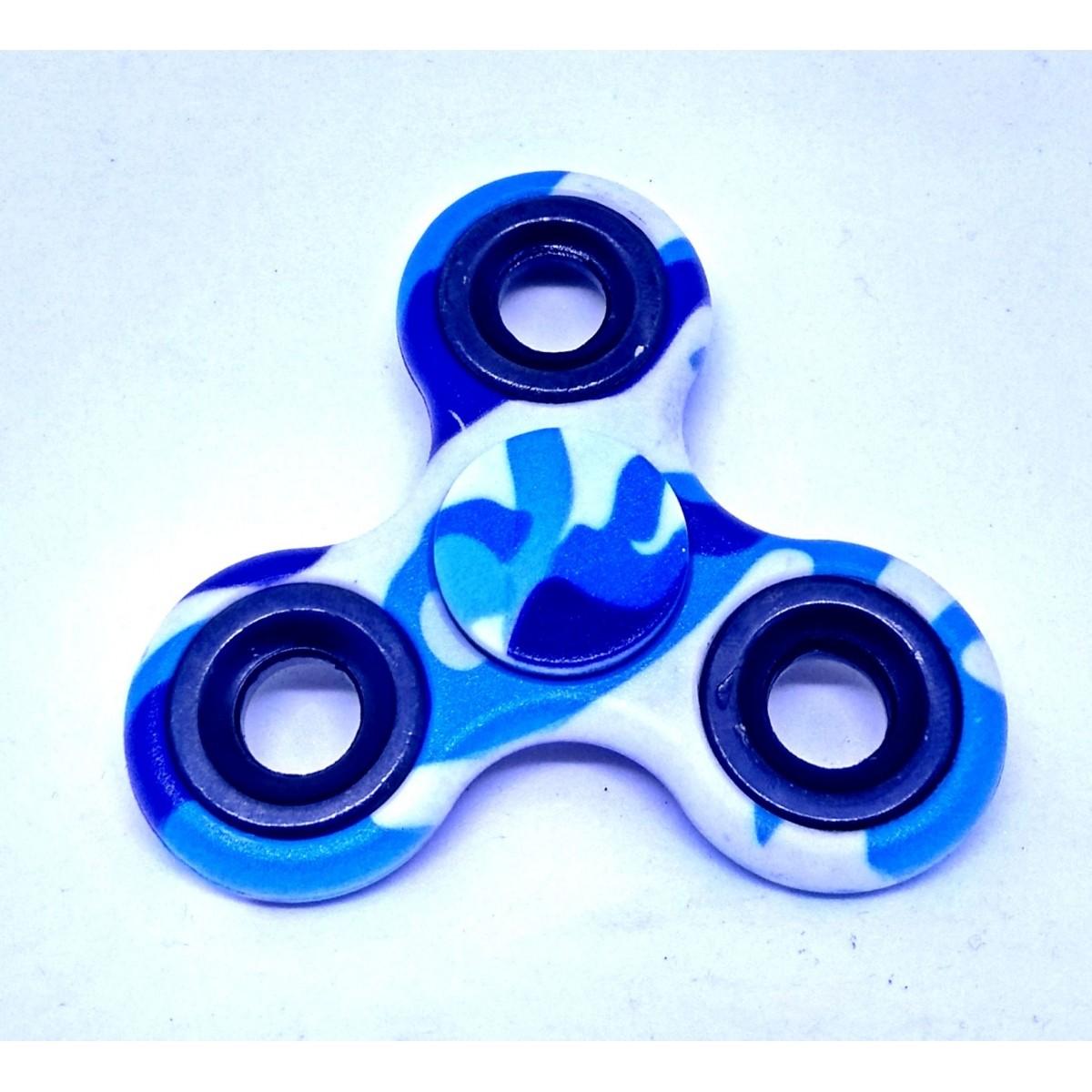 Hand Spinner Camuflado - Rolamento Anti Estresse Fidget Hand Spinner