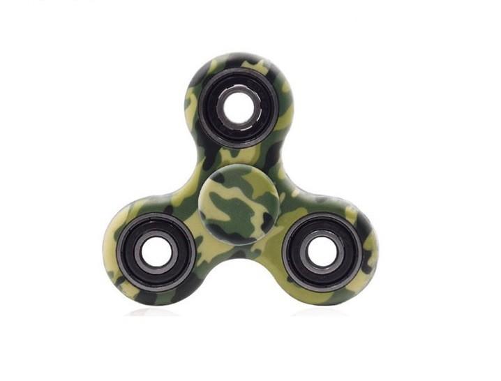 Hand Spinner Camuflado Exército - Rolamento Anti Estresse Fidget Hand Spinner
