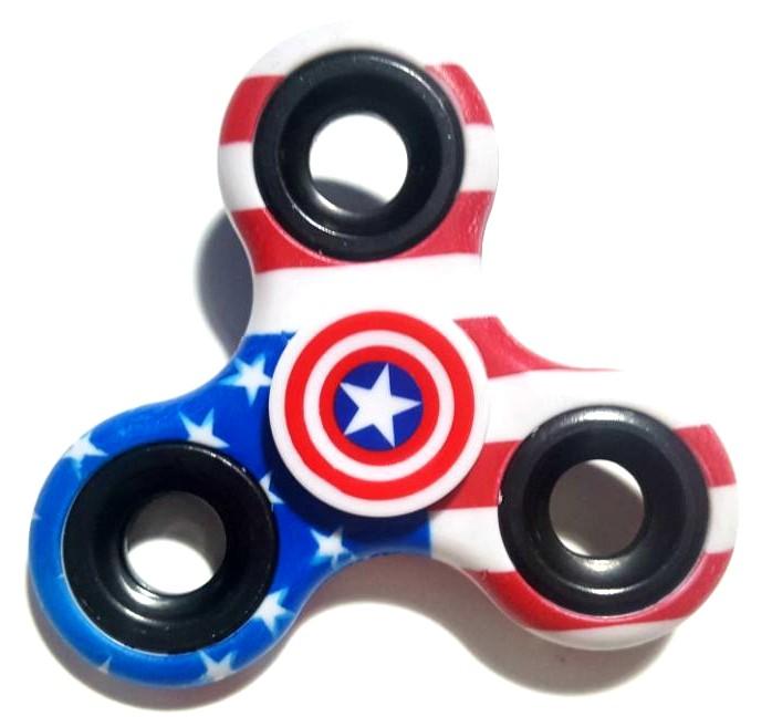 Hand Spinner América - Rolamento Anti Estresse Fidget Hand Spinner