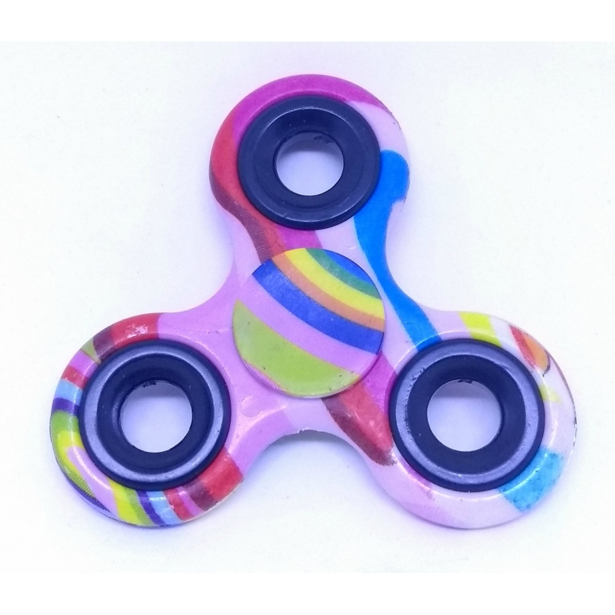 Hand Spinner Coloridos / SORTIDOS Rolamento Anti Estresse Fidget Hand Spinner