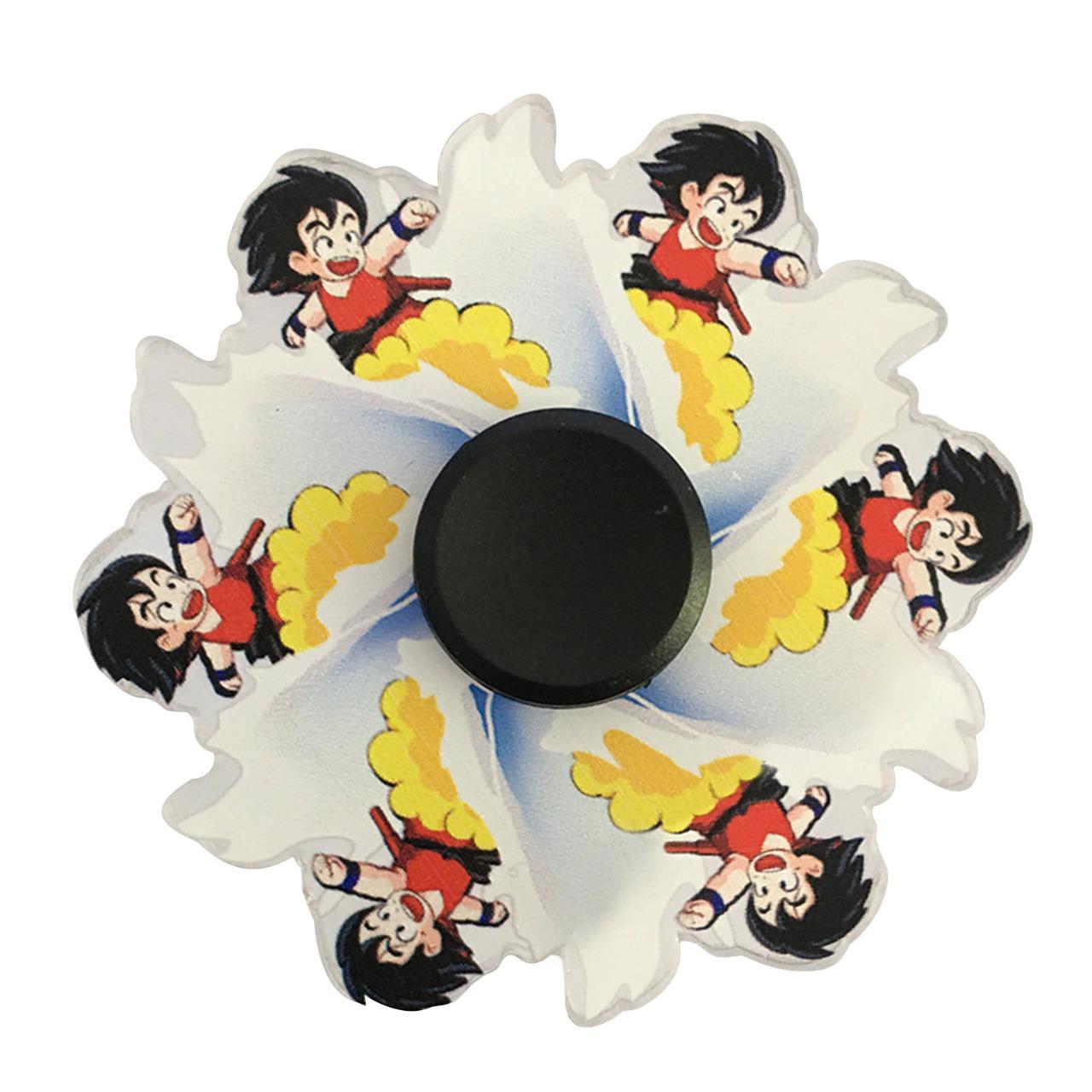 Hand Spinner Motion Goku na Nuvem Voadora: Dragon Ball Classico - Rolamento Anti Estresse Fidget Hand Spinner - EVALI