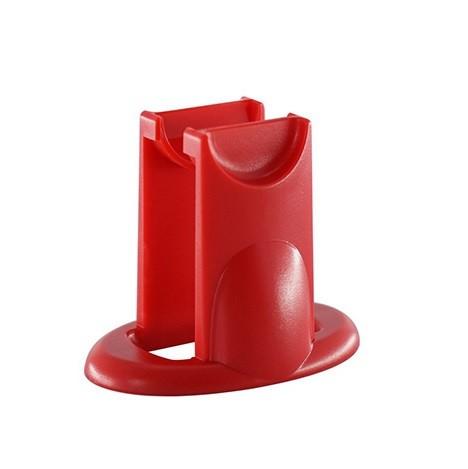 Hand Spinner Holder (Suporte) Vermelho - Rolamento Anti Estresse Fidget Hand Spinner