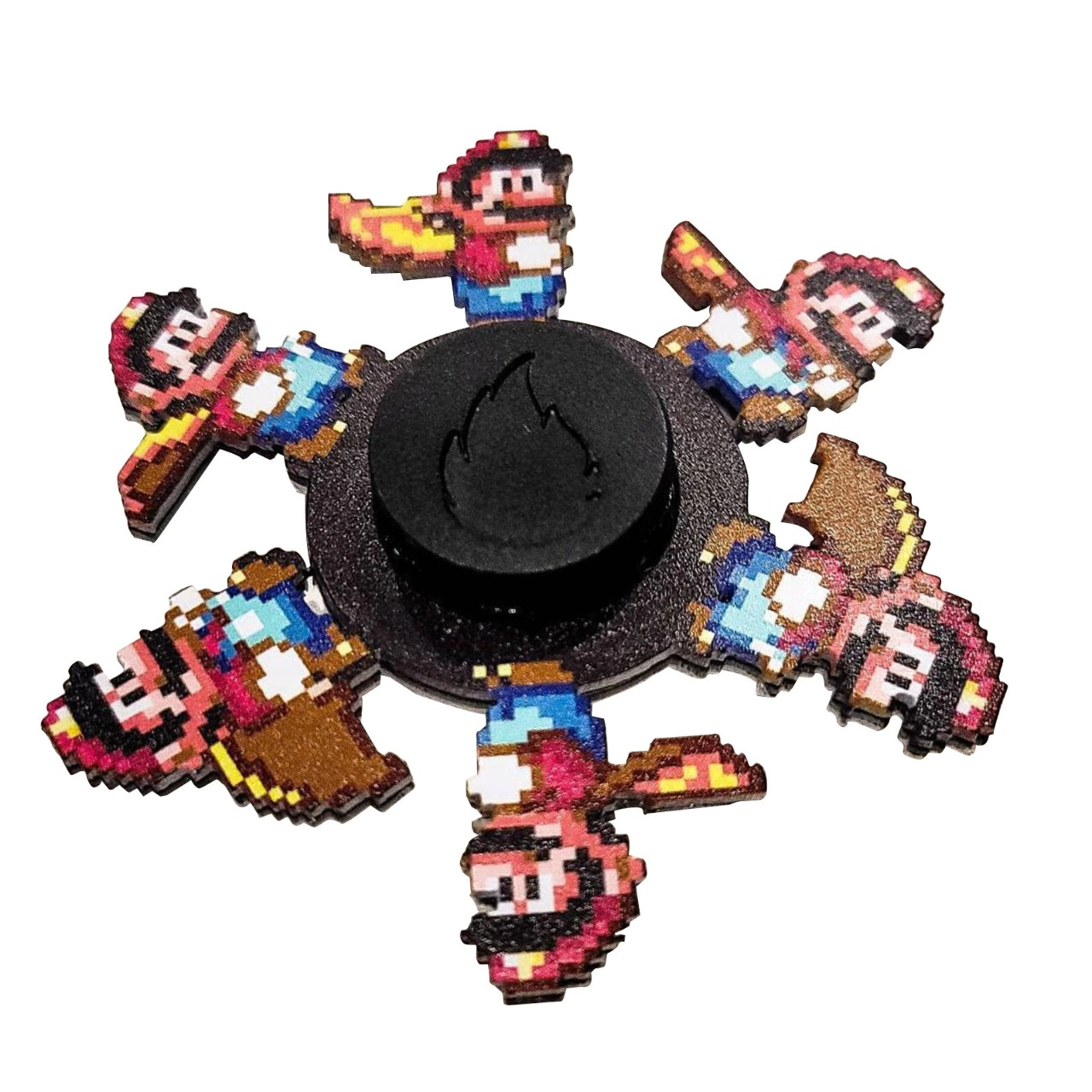Hand Spinner Motion  Mario: Super Mario World - Rolamento Anti Estresse Fidget Hand Spinner - EVALI