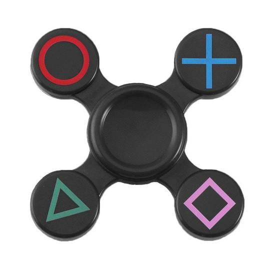 Hand Spinner Playstation - Rolamento Anti Estresse Fidget Hand Spinner