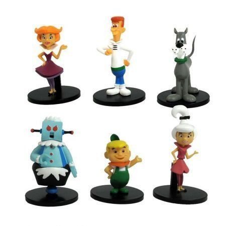 Hanna-barbera The Jetsons (Set Com 6 Bonecos) - Jazwares