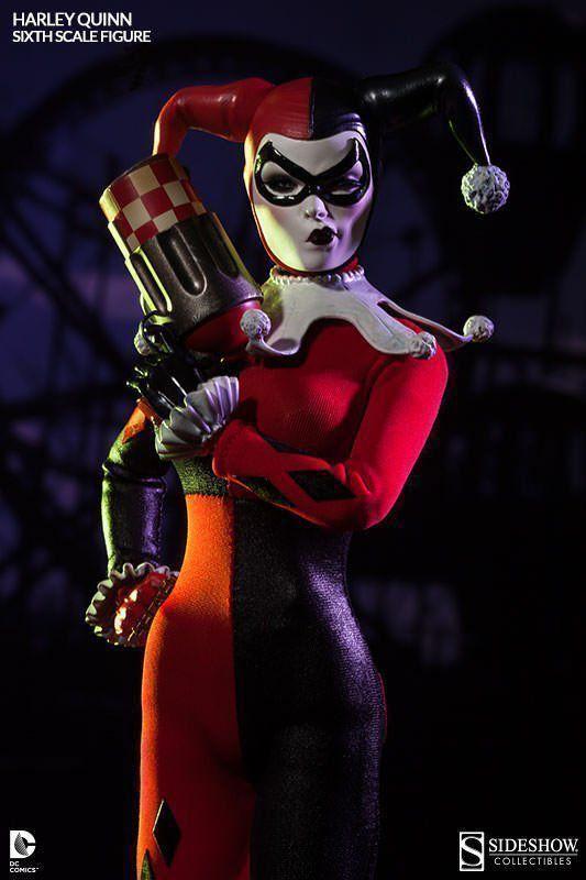 Harley Quinn Dc Comics Escala 1/6 - Sideshow