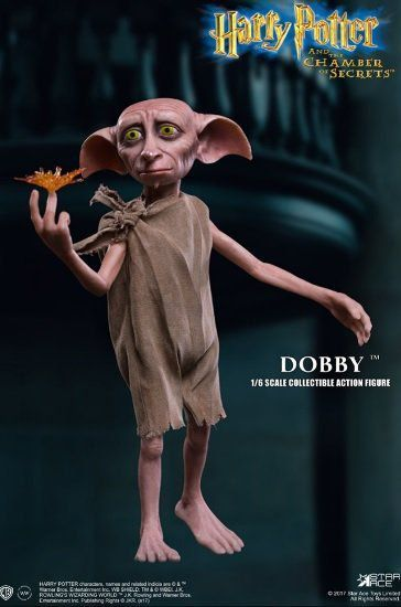 Boneco Dobby (O Elfo Doméstico): Harry Potter (Escala 1/6) - Star Ace
