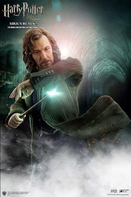 Boneco Sirius Black: Harry Potter e o Prisioneiro de Azkaban Escala 1/6 - Star Ace - CD