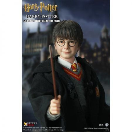 Harry Potter e a Pedra Filosofal: Harry Potter Escala 1/6  - Star Ace