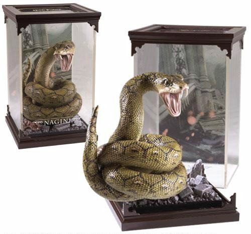 Estátua Nagini: Harry Potter Criaturas Mágicas (Magical Creatures) - Noble Collection