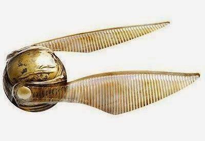 Pomo de Ouro (Golden Snitch): Harry Potter