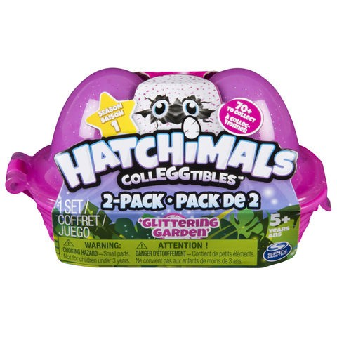 Hatchimals Colleggtibles 2-Pack Egg Carton - Glittering Garden
