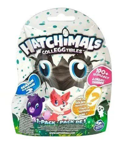Hatchimals Colleggtibles: Saquinho Surpresa (1 Ovo) Serie 2 - Sunny