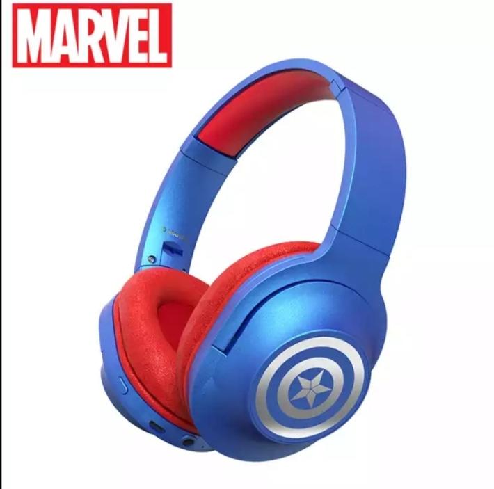 Headset Fone de Ouvido Bluetooth 5.0 Capitão América Vingadores Ultimato Marvel Comics - MKP