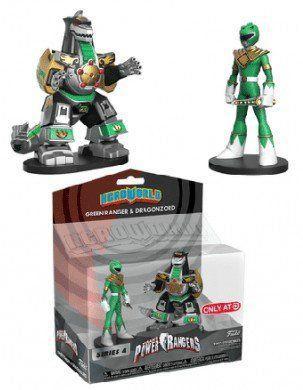 Funko HeroWorld Pack: Power Rangers (Green Ranger & Dragonzord)  - Funko