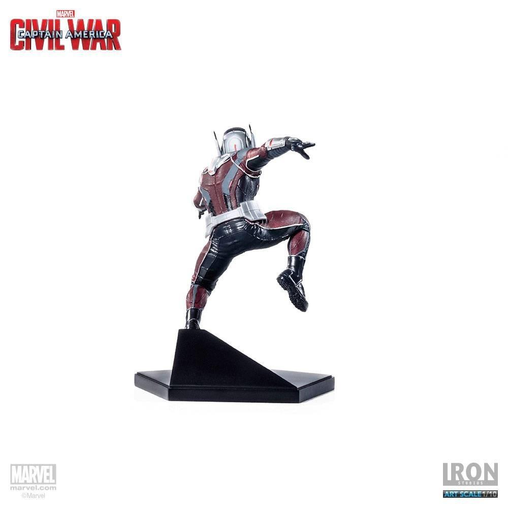 Estátua Homem Formiga (Ant-Man): Guerra Civil Art Scale Escala 1/10 - Iron Studios