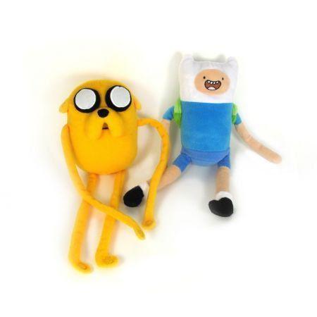 Hora de Aventura Finn e Jake (Pelúcia) - Jazwares
