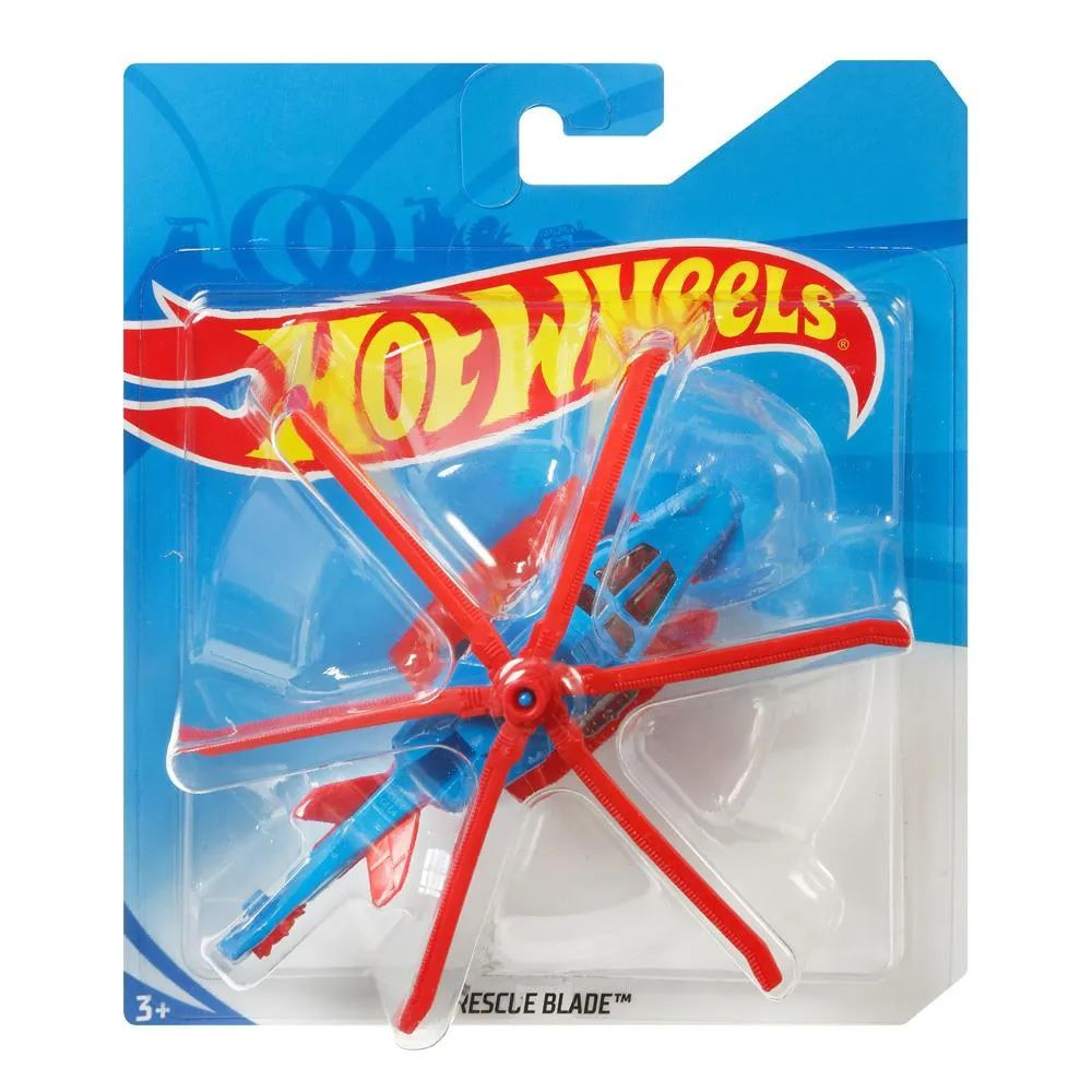 Hot Wheels Aviões Skybusters: Rescue Blade - Mattel