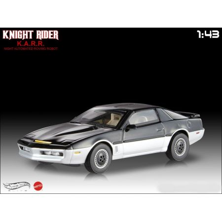 Hot Wheels Elite K.A.R.R Knight Automated Roving Robot Knight Rider 1:43 - Mattel