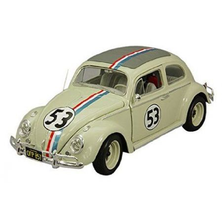 Hot Wheels Elite: Volkswagen Herbie Cult Classic Diecast 1962 Escala 1/18 - Mattel