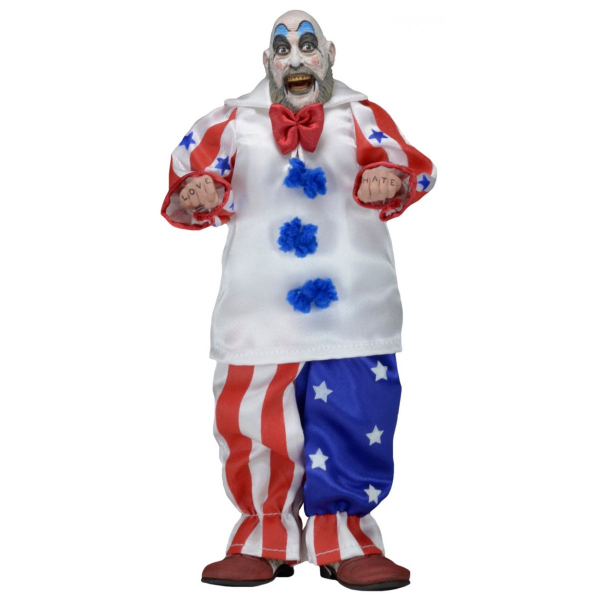 House Of 1000 Corpses Figures: Clothed Retro Action Captain Spaulding Figure - Neca