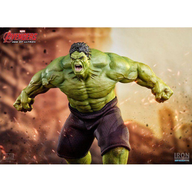 Estátua Hulk: Vingadores Era de Ultron (Age of Ultron) Art Scale 1/10 - Iron Studios