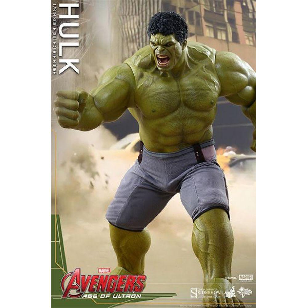 Action Figure Hulk: Vingadores Era de Ultron (Age of Ultron) Escala 1/6 (MMS286) - Hot Toys