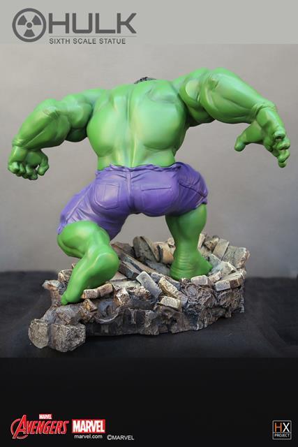 Hulk Avengers Assemble Estátua Escala 1/6 - XM Studios