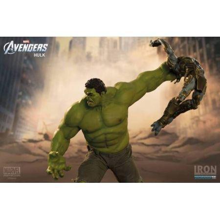 Hulk Avengers Battle Scene Diorama 1:6 - Iron Studios