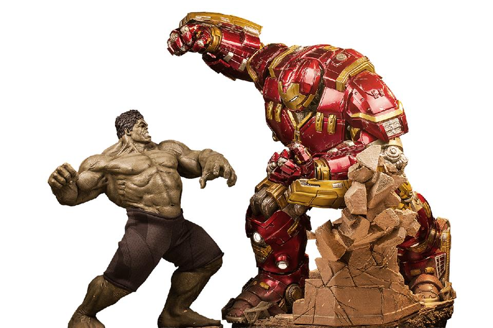 Hulkbuster Age of Ultron Diorama Escala 1/6 - Iron Studios