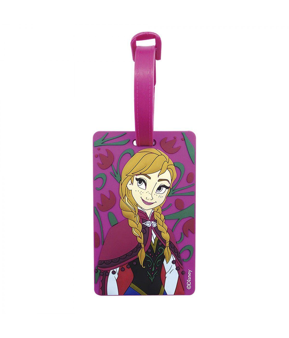 Identificador para Mala (Luggage Tag) Anna: Frozen (Disney)