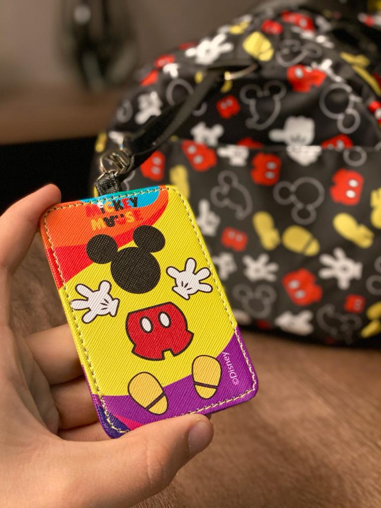 Identificador para Mala (Luggage Tag) Mickey Mouse:  Mickey Mouse 90 Years of Magic (90 Anos de Magica) (Disney)