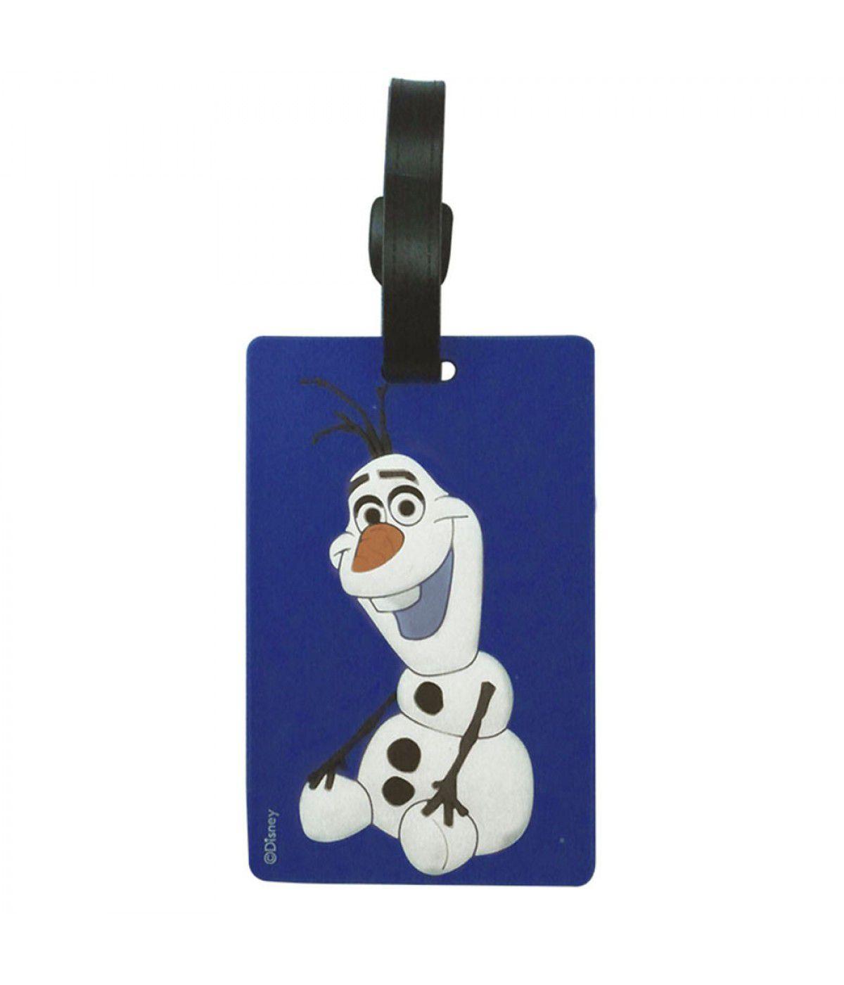 Identificador para Mala (Luggage Tag) Olaf: Frozen (Disney)
