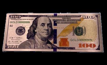 Ímã 100,00 Dólares - (Cobre)