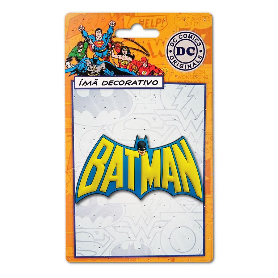 Imã DC Comics Batman Logo 60's