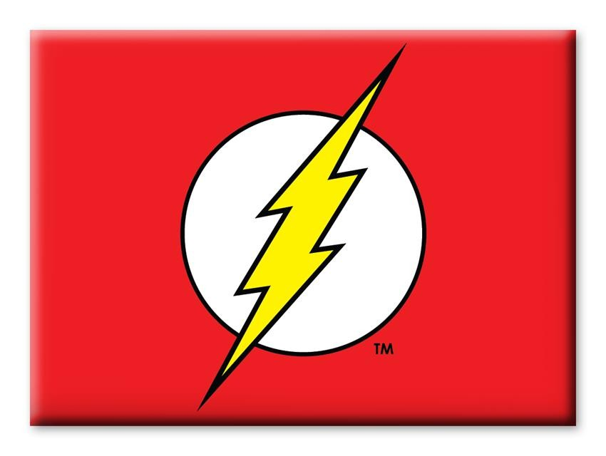 Imã DC Comics Flash Logo