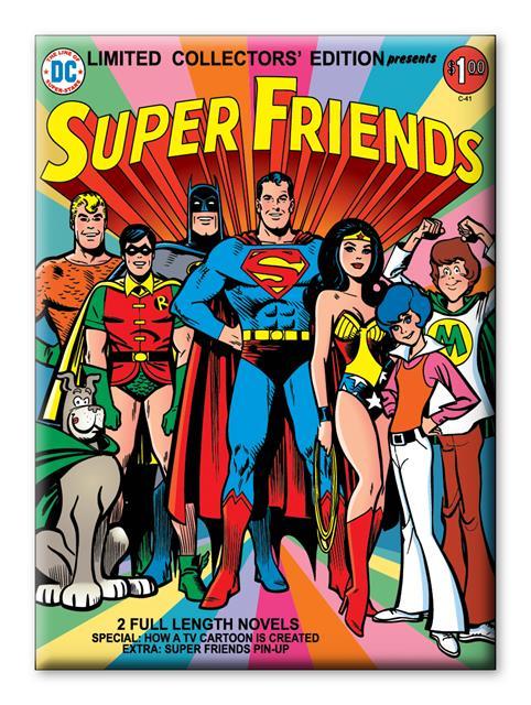 Imã DC Comics Super Amigos