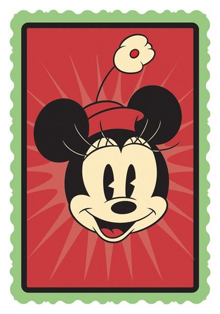 Imã Disney Minnie Vintage