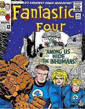 Imã Marvel Comics: Quarteto Fantástico