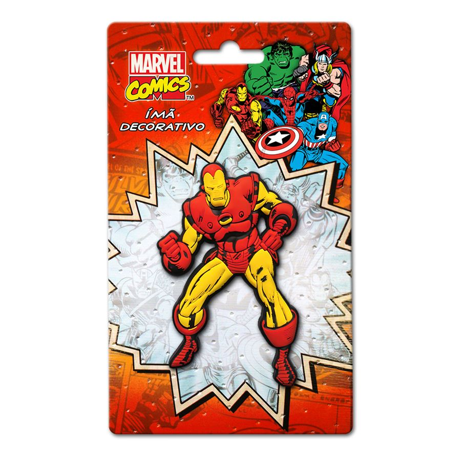 Imã Marvel Iron Man