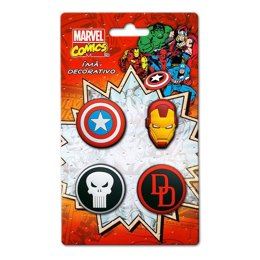 Imã Marvel Kit Icones 1