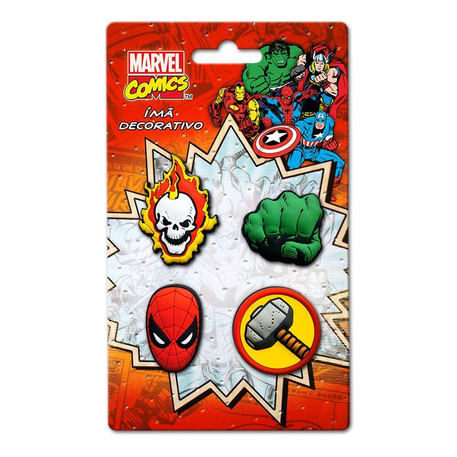 Imã Marvel Kit Icones 2