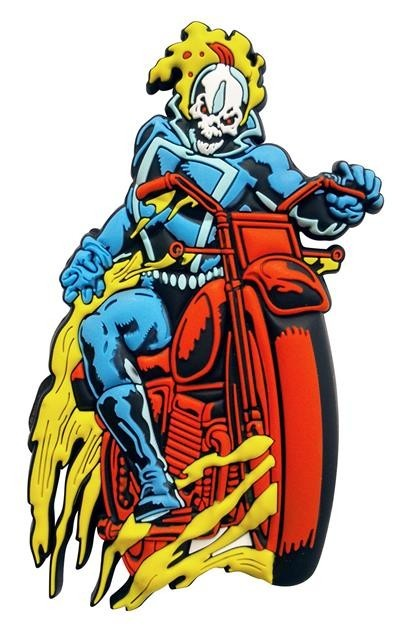 Imã Marvel Motoqueiro Fantasma