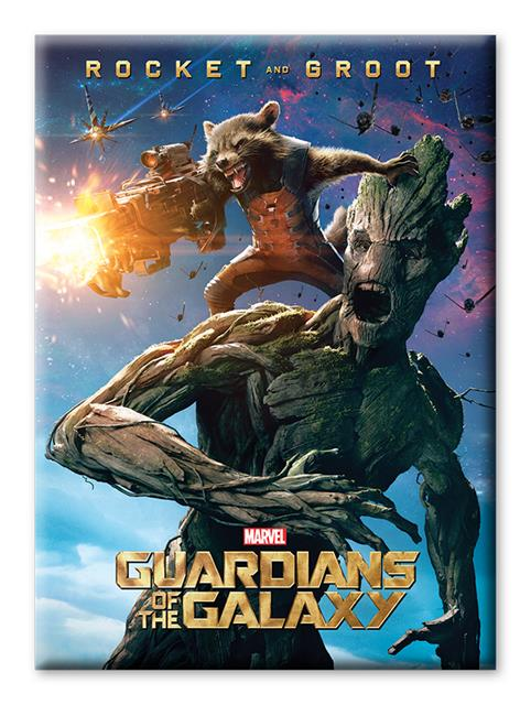 Imã Marvel Rocket And Groot