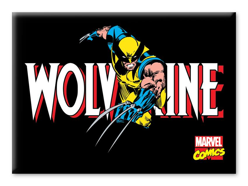 Imã Marvel Wolverine Comics