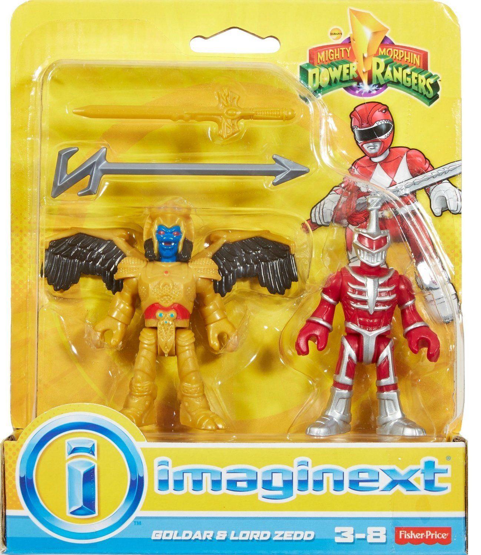 Imaginext® Goldar e Lord Zedd: Power Rangers - Fisher-Price
