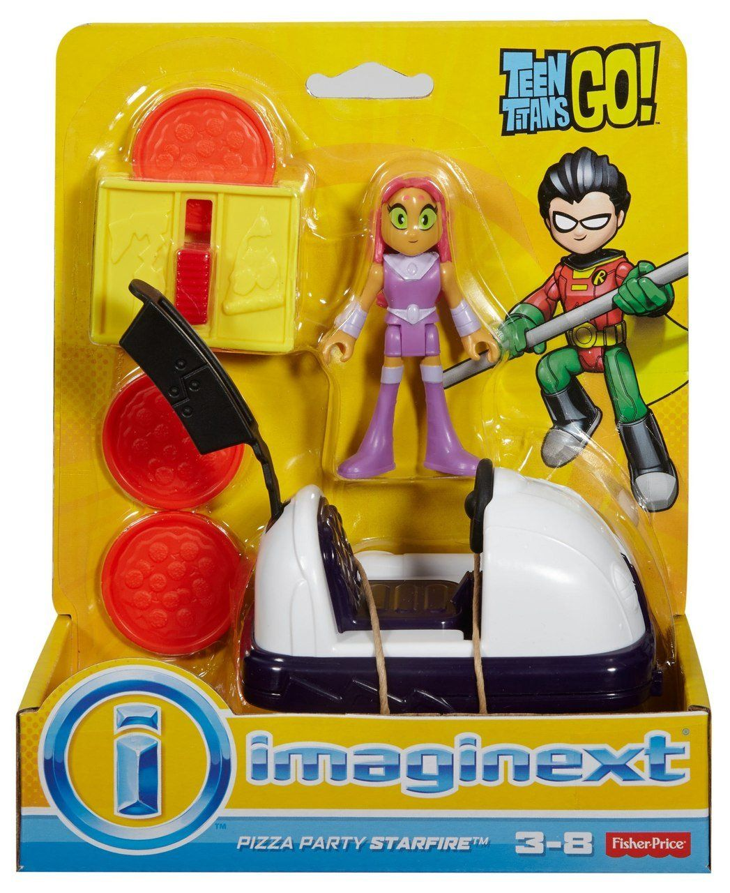 Imaginext® Jovens Titãs- Pizza Party Starfire - Fisher-Price