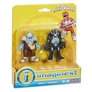 Imaginext® Squatt e Baboo: Power Rangers - Fisher-Price