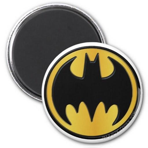 Imãs Dc Comics: Batman Logo - Imãs do Brasil